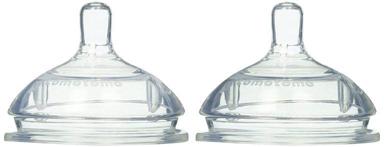 זוג פטמות סיליקון להחלפה לבקבוקי Como Tomo