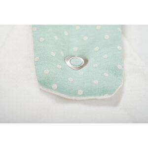 סט שק שינה לתינוק דגם Little Dots Mints (3 חלקים)