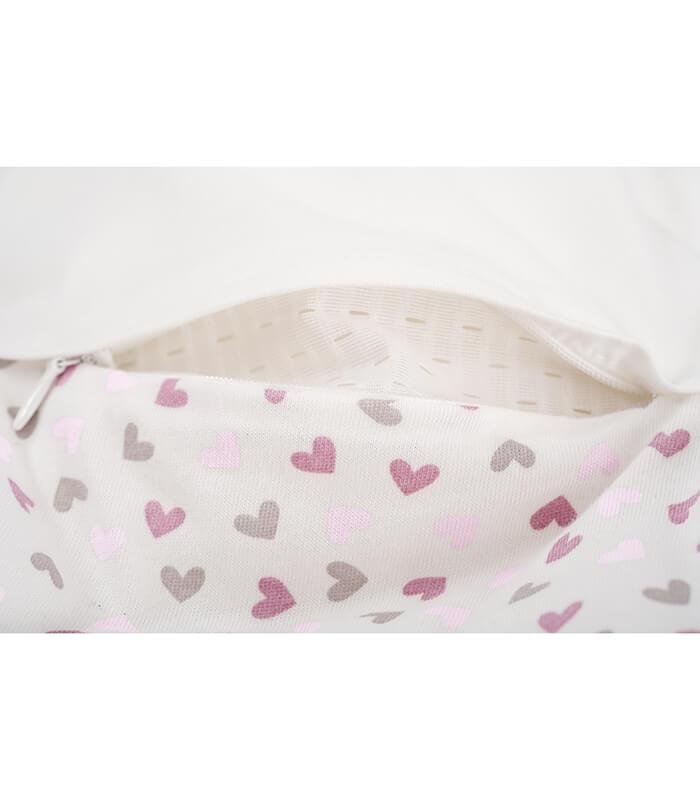 שק שינה לתינוק דגם Heart Rose