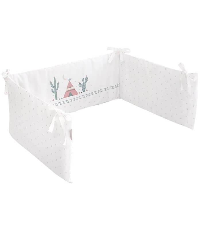 מגן מיטה דגם Cactus Love